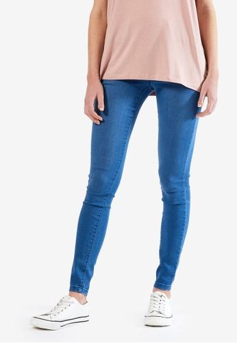 Dorothy Perkins blue Organic Mid Wash Premium Eden Jeans 42763AA529EE15GS_1