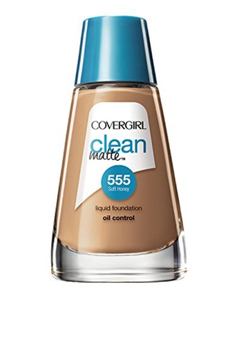 CoverGirl beige Clean Matte Liquid Foundation - Soft Honey CO462BE0JM7LPH_1