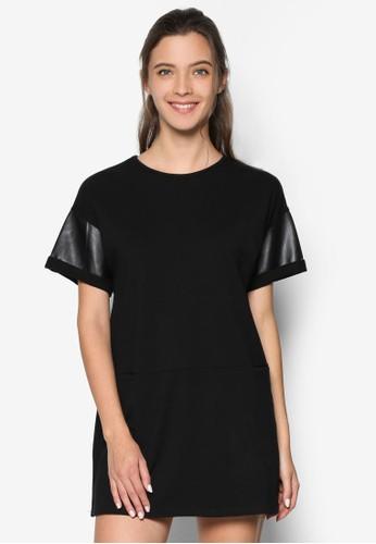 Pu Pieczalora taiwan 時尚購物網ing T-Shirt Dress, 服飾, 洋裝