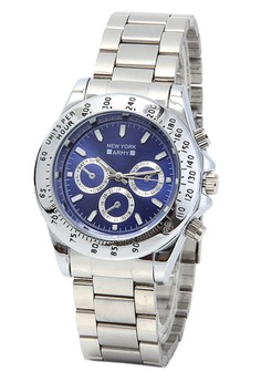 Newyork Army NYA7661 Men's Stainless Strap Blue Dial Watch