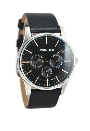 Police black Police Jam Tangan Pria Hitam Leather Strap 14701JS-02  PO406AC32LCLID 1 2789547486