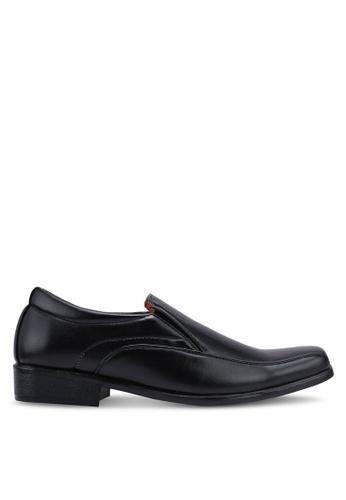 Rocklander black Slip On Formal Shoes A8751SHDE1C1B4GS_1