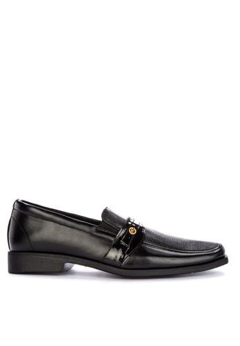 Itti black Square Toe Loafers 19530SH55FFDA7GS_1