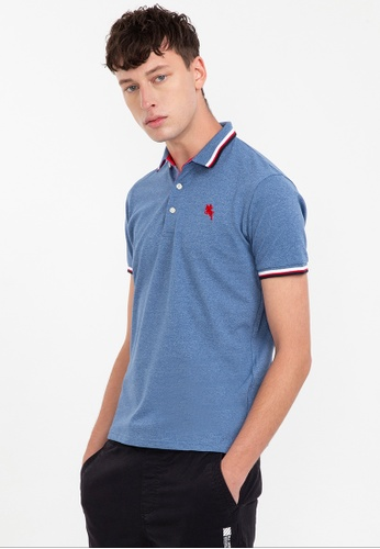 Bossini grey Short Sleeve Premium Polo Shirt 197D9AAB9512E1GS_1