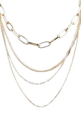 ALDO gold Eoweiniel Metal Necklace B4E47AC8B3F113GS_1
