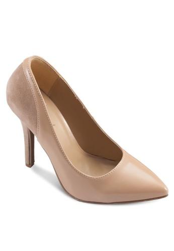 漆面esprit 寢具尖頭高跟鞋, 女鞋, 鞋