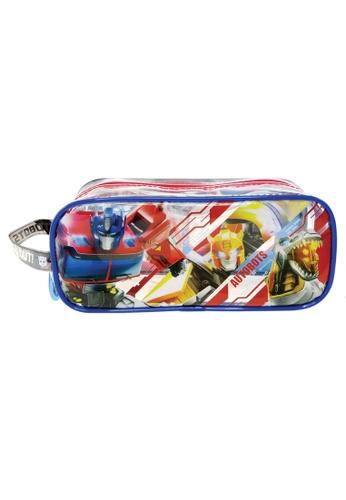 Transformers Transformers Autobots Transparent Square Pencil Bag Set EF04FKC89EFB02GS_1