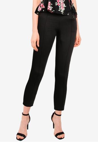 Miss Selfridge black Petite Black Ponte Trousers 160A9AA0B50074GS_1
