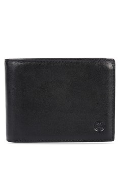 Billfold with Upper Flap Leather Wallet