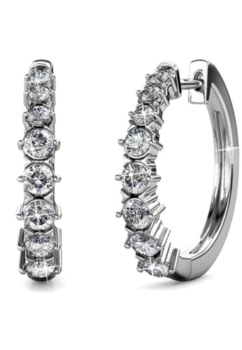 Her Jewellery silver Her Jewellery Pam Clip Earrings with 18K Gold Plated 85230AC9F62310GS_1