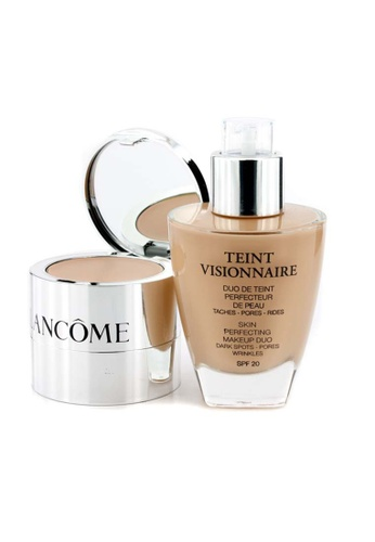 Lancome LANCOME - Teint Visionnaire Skin Perfecting Make Up Duo SPF 20 - # 02 Lys Rose 30ml+2.8g FF9ACBE46274D7GS_1