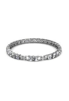 e705b556c Her Jewellery silver Bracelet Square Tennis embellished with Crystals from  Swarovski HE581AC0RAEGMY_1