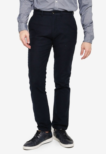 Tommy Hilfiger navy Casual Plain Chinos 28F85AA5898CB3GS_1