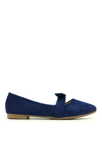Carlo Rino blue Carlo Rino 333020-268-13 Pointed Toe Flats (Blue) F5B29SHC025FB3GS_1