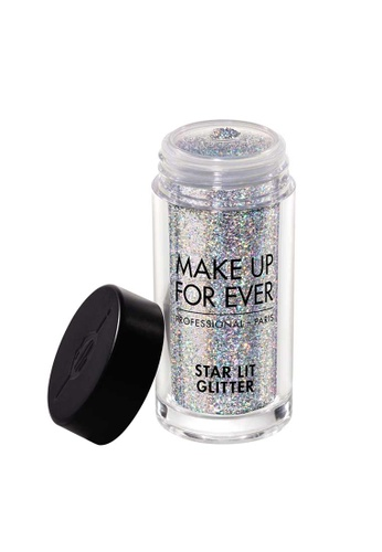 MAKE UP FOR EVER multi and silver STAR LIT GLITTER 8G S107 A5CDFBE4C1CD05GS_1