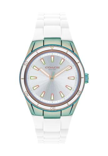Coach silver Coach Darcy Silver Women's Watch (14503592) 5CF71AC602AA52GS_1
