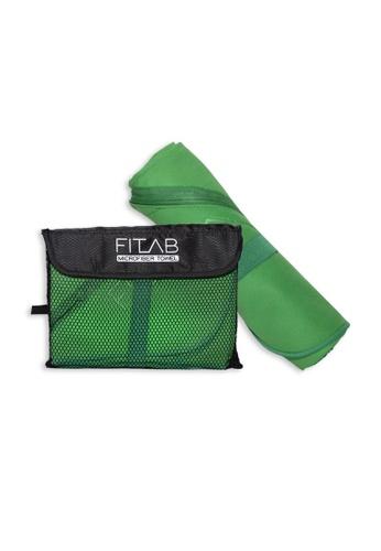 Fitlab green Microfiber Beach Towel 20B00HL02A287CGS_1