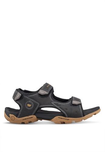 Weinbrenner black Strap On Sandals 67304SH61AFBE1GS_1