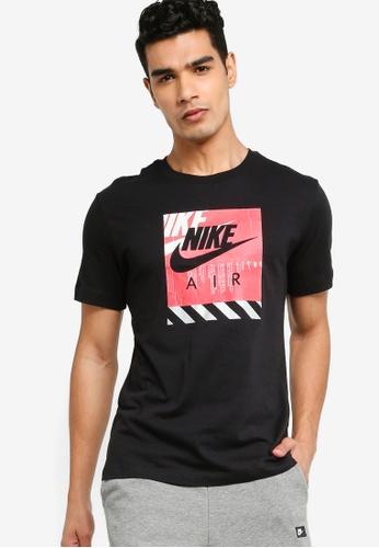 Nike black Reflective Air Tee 3FC5BAAA40352BGS_1