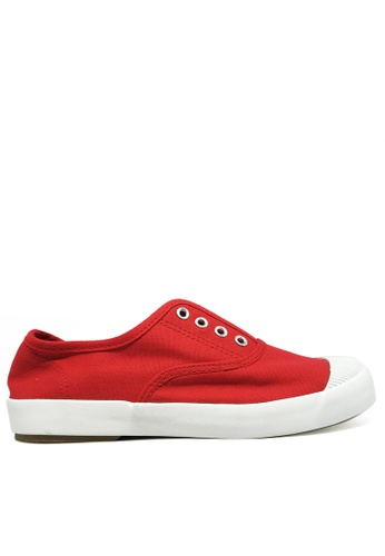 Twenty Eight Shoes red Canvas elastic shoes TW446SH32ITFHK_1