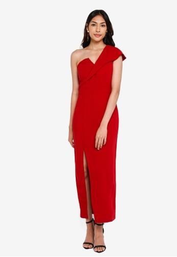 4f81dcccfc6 Buy Preen & Proper One Shoulder Slim Maxi Dress Online on ZALORA Singapore