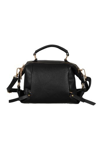 Lara black Top Handle Boston Sling Bag 99721AC3F31EC8GS_1