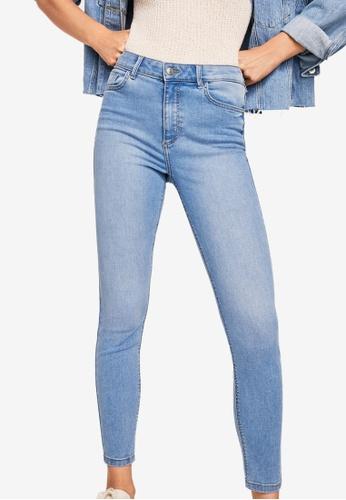 Mango blue Skinny Noa Jeans E85D2AA88730ADGS_1