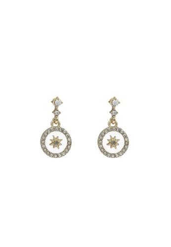 Saturation gold Delicate Sun Drop Earrings B6379AC155109FGS_1