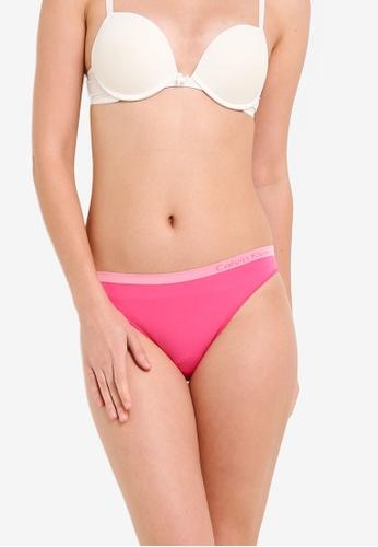 Calvin Klein pink Seamless Bikini Panties - Calvin Klein Underwear CA221US0RP9GMY_1