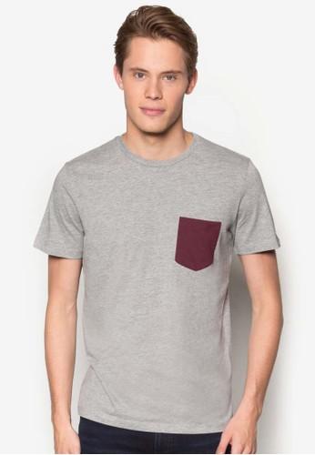 色塊口袋TEE, esprit mongkok服飾, 服飾