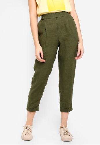 United Colors of Benetton green Casual Pants. 5781FAA3BA225CGS_1
