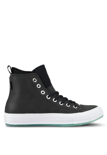 Converse black and white Chuck Taylor All Star Men's WP Boot Hi Sneakers CO302SH0SXUNMY_1