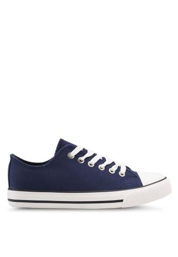 Rubi navy Jodi Low Rise Sneakers 928A4SH758A5C0GS_1