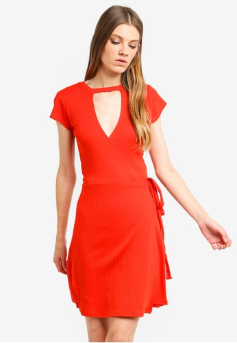 e5317a85daa Buy Brave Soul Rib Wrap Over Dress Online on ZALORA Singapore