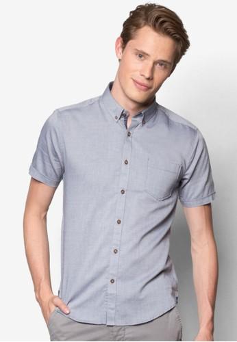 素色短袖襯衫, 服飾, 印花襯esprit門市地址衫