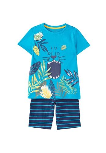 Du Pareil Au Même (DPAM) blue Printed Pyjamas F805AKA4116A23GS_1