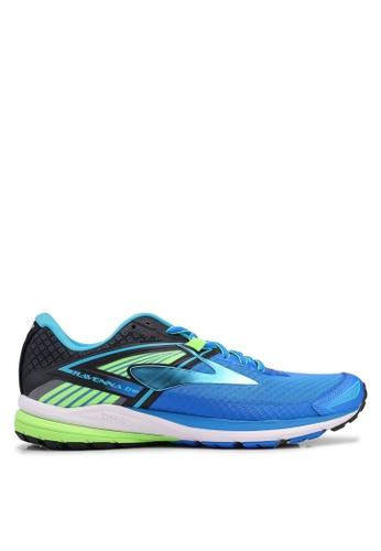 Brooks blue Ravenna 8 Shoes 07180SH4D6D57BGS_1