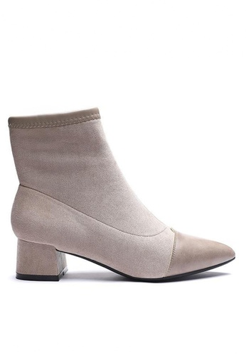 Twenty Eight Shoes Synthetic Suede Ankle Boots 1268-1 7413BSHFC4DCBFGS_1