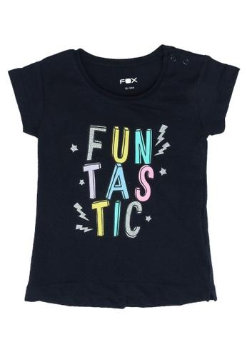 FOX Kids & Baby navy Baby Girl Short Sleeve Tee 4A496KA683F5DBGS_1