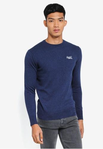 Superdry 海軍藍色 長袖針織衫 DC0B1AA2B40749GS_1