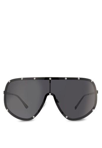 JP0421 面具飛行員Aviator esprit童裝門市太陽眼鏡, 飾品配件, 飾品配件