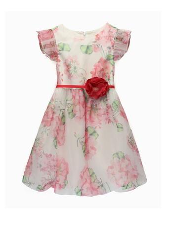 Kingkow pink Cotton Dress 4-12 years 48233KA7E1C378GS_1