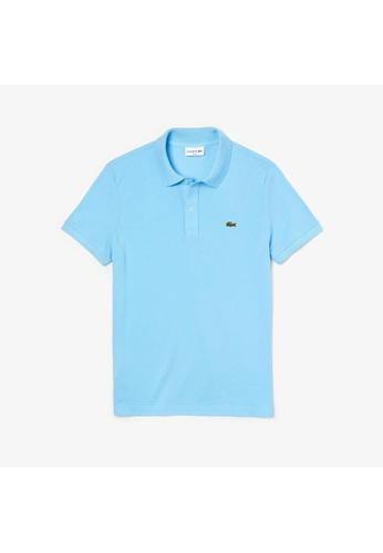 Lacoste blue Lacoste Men's Mini Pique Stretch Polo 7DFA5AA15E9481GS_1