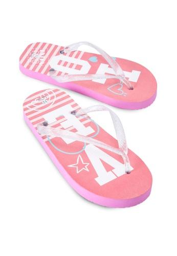LC Waikiki pink Girl's Beach Flip-Flops 0C565KS2E2F4A7GS_1