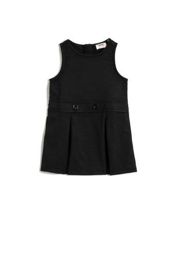 KOTON black Sleeveless Dress 2E8F1KAA271A0BGS_1