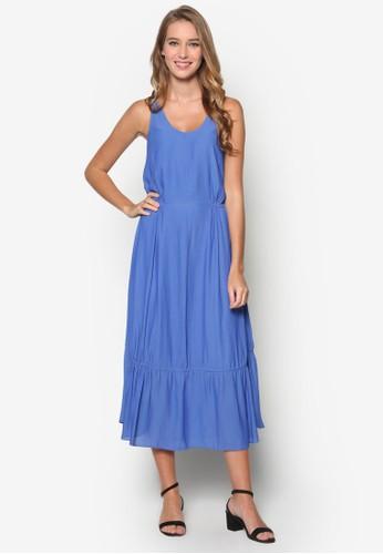 降落傘無袖adl esprit連身裙, 服飾, 洋裝