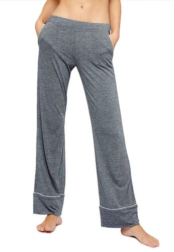 Etam grey Warm Day Night Pants 84D63AA972FF06GS_1