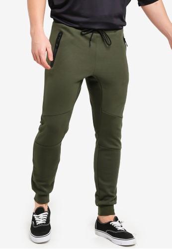 Factorie green Tech Track Pants 3D70CAAF463FA7GS_1