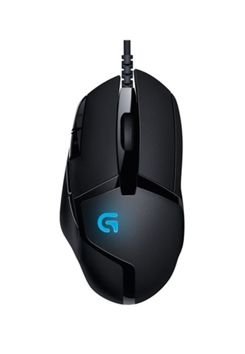 Logitech black Logitech G402 Hyperion Fury FPS Wired Gaming Mouse 3240DESBC5D8BCGS_1
