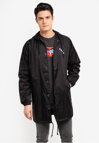 OBEY black 8 Ball Icon Jacket 87129AAAA84B62GS_1